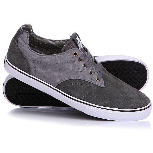 Кеды кроссовки низкие Dekline Tim Tim Pewter/Black<br><br>Цвет: серый<br>Тип: Кеды низкие<br>Возраст: Взрослый<br>Пол: Мужской