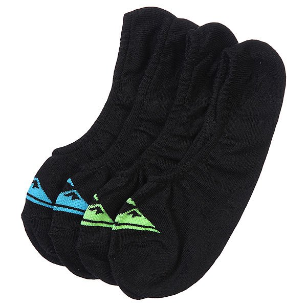 Носки низкие Quiksilver 2pk Essential Sport Racer Black