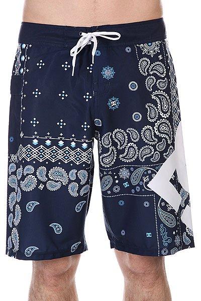 Мужские шорты Шорты пляжные DC Lanai 22 Indigo Paisley от Proskater