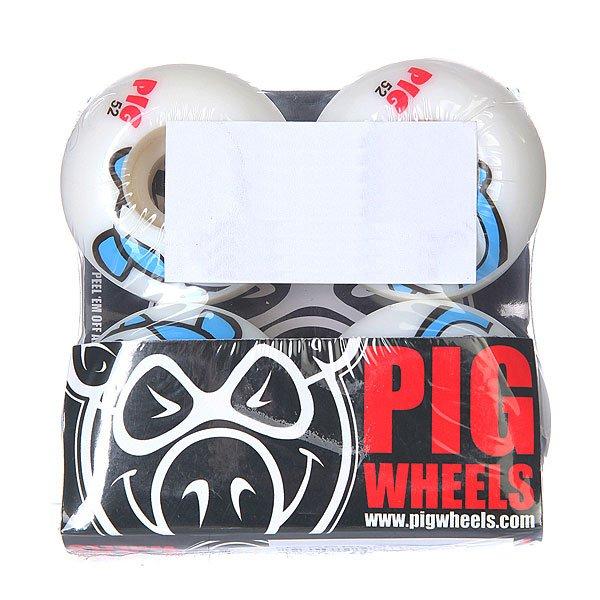 Колеса для скейтборда для скейтборда Pig Penguin Blue 101A 52 mmДиаметр: 52 mm    Жесткость: 101A    Цена указана за комплект из 4-х колес<br><br>Цвет: белый,голубой<br>Тип: Колеса для скейтборда