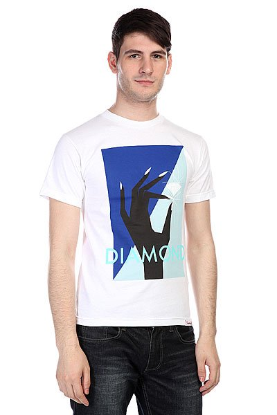 Футболка Diamond Pinch Tee White