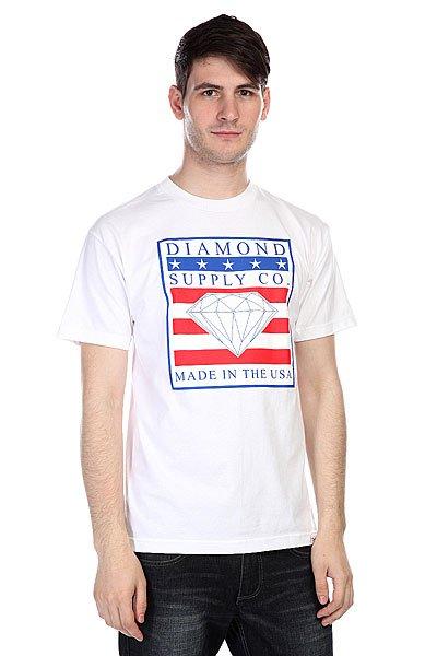 Футболка Diamond Made In The Usa Tee White