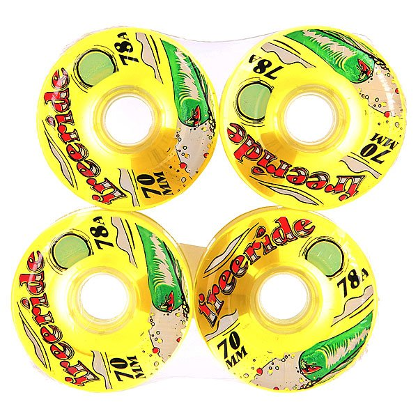 Колеса для скейтборда для лонгборда Sector 9 Freeride 7 Wheels Yellow/Green 78A 70 mm female head teachers administrative challenges in schools in kenya
