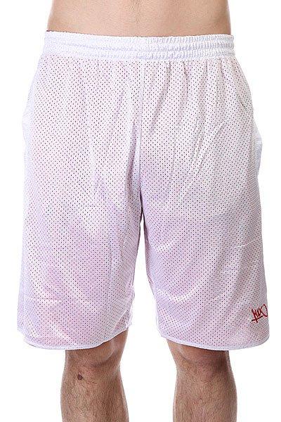 Шорты K1X Core Reversible Shorts White/Red<br><br>Цвет: белый,красный<br>Тип: Шорты<br>Возраст: Взрослый<br>Пол: Мужской