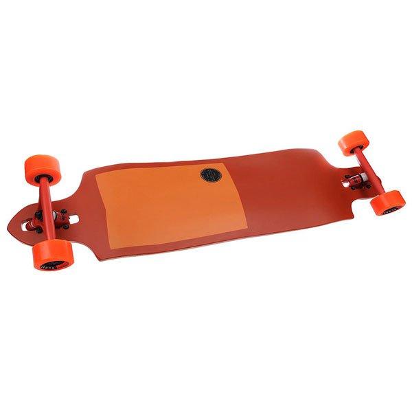 Лонгборд Globe Sledgehog Fibercarve Tart Orange 10 x 37.5 (95.2 см)Лонгборд, вдохновленный серфингом, подойдет для современного фрирайда с премиум-конструкцией и ультрасовременной начинкой.Технические характеристики:  Дека: 8-слойный клен.  Подвеска: 180 мм Slant Reverse trucks. Колеса: 70 mm 83A.Подшипники: ABEC 7.<br><br>Цвет: оранжевый<br>Тип: Лонгборд