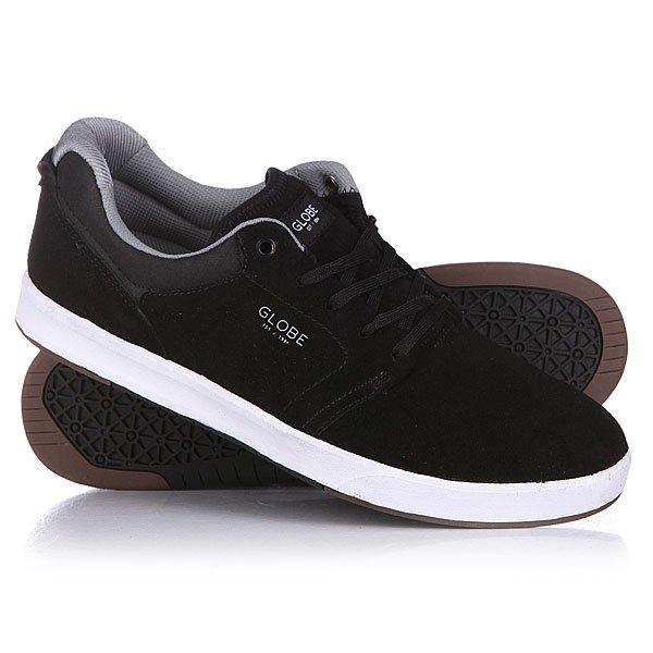 Кеды кроссовки низкие Globe N Shinto Black/Grey кеды кроссовки низкие детские quiksilver beacon black black grey