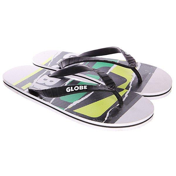 Шлепанцы Globe N Rip White/Green