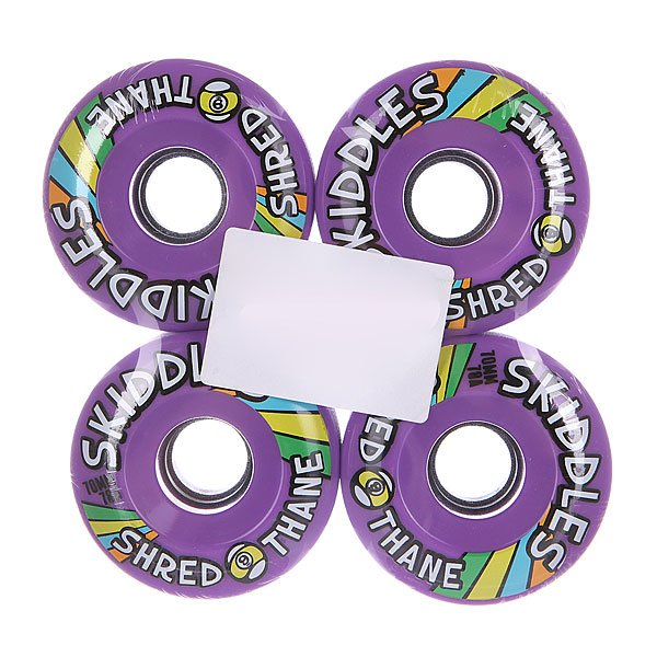 Колеса для скейтборда для лонгборда Sector 9 Skiddles Wheels Purple 78A 70 mmДиаметр: 70 mm    Жесткость: 78A    Цена указана за комплект из 4-х колес<br><br>Цвет: фиолетовый<br>Тип: Колеса для лонгборда