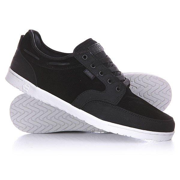 Кеды кроссовки низкие Etnies Dory Black<br><br>Цвет: черный<br>Тип: Кеды низкие<br>Возраст: Взрослый<br>Пол: Мужской
