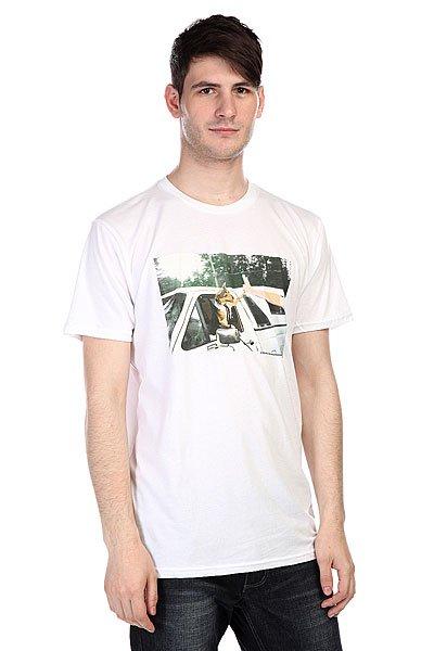 Футболка Analog Pla Dog High White<br><br>Цвет: белый<br>Тип: Футболка<br>Возраст: Взрослый<br>Пол: Мужской