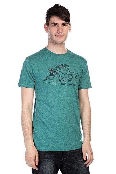 Футболка Burton Ride Spk Tidal Bore<br><br>Цвет: зеленый<br>Тип: Футболка<br>Возраст: Взрослый<br>Пол: Мужской