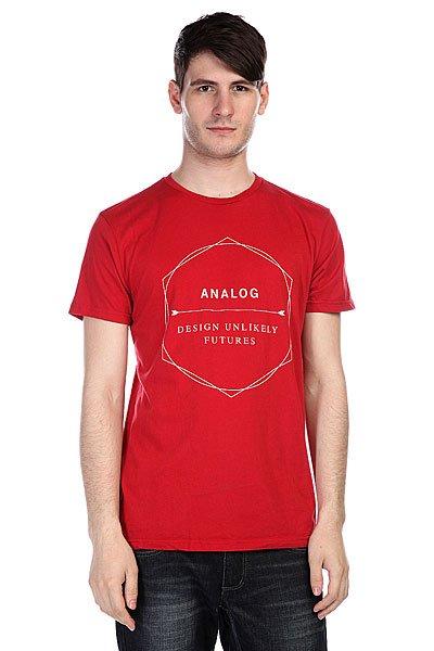 футболка-analog-ag-arrow-ender-slim-red-rock
