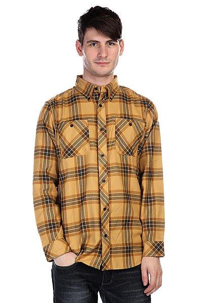 Рубашка в клетку Analog Balance Gold Rush<br><br>Цвет: желтый<br>Тип: Рубашка в клетку<br>Возраст: Взрослый<br>Пол: Мужской