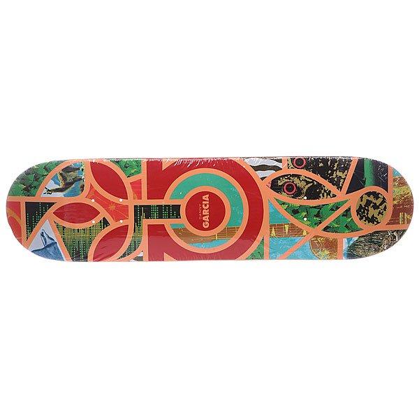 Дека для скейтборда для скейтборда Habitat S5 Garcia Melange 32.25 x 8.0 (20.3 см) дека для скейтборда для скейтборда flip s5 lopez p2 boom 31 5 x 8 0 20 3 см