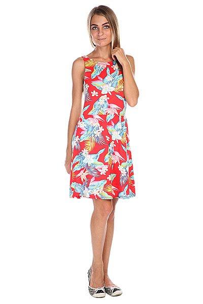 Платье женское Billabong Tikal Warm Red