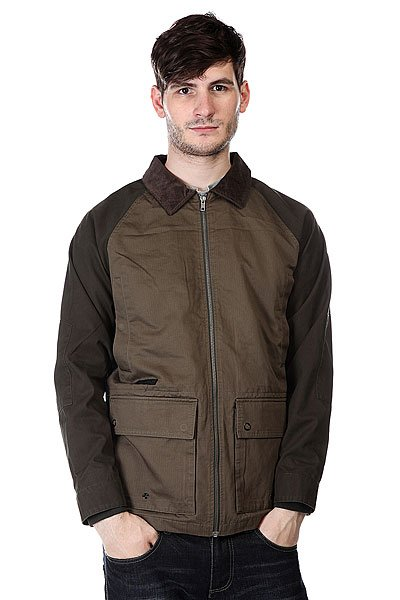 Куртка Volcom Kornered Jacket Dark Green