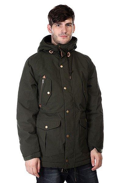 Куртка парка Volcom Starget Parka Dark Green