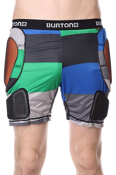 Купить Защита   Защита на бедра Burton Mb Total Imp Short Turf Pop Stripe