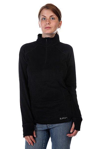 Термобелье (верх) женское Burton Wb Expdtn 1/4 Zip True BlackУниверсальная термо рубашка на молнии от Burton.Технические характеристики: Технология DRYRIDE ULTRAWICK™.Белье тянется на  360°  для неограниченной мобильности.Плоские швы.Эластичные манжеты с отверстием для большого пальца.Быстросохнущие и воздухопроницаемые свойства.Короткая молния для вентиляции.<br><br>Цвет: черный<br>Тип: Термобелье (верх)<br>Возраст: Взрослый<br>Пол: Женский