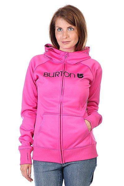 Купить Толстовки   Толстовка сноубордическая женская Burton Wb Scoop Hdd Raspberry Rose