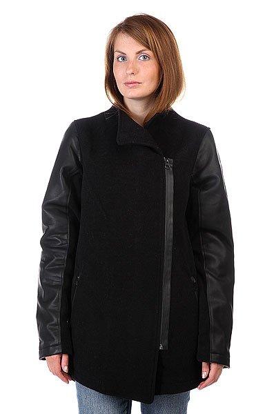 Пальто женское Burton Wb Regent Jkt True BlackСтильное и качественное пальто от компании Burton подчеркнет ваш стиль.Характеристики:Внутренняя подкладка из тафты. Застежка – молния. Классический  воротник. Два прорезных кармана для рук.<br><br>Цвет: черный<br>Тип: Пальто<br>Возраст: Взрослый<br>Пол: Женский