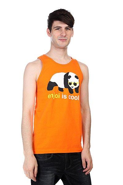 ����� Enjoi Cool Tank Top Orange