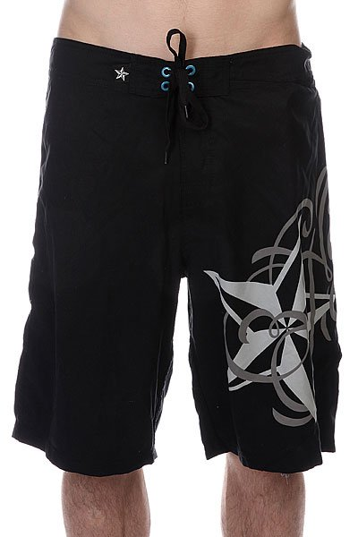 Шорты пляжные Nor Cal Ritz Boardshort Black шорты пляжные globe luster boardshort black