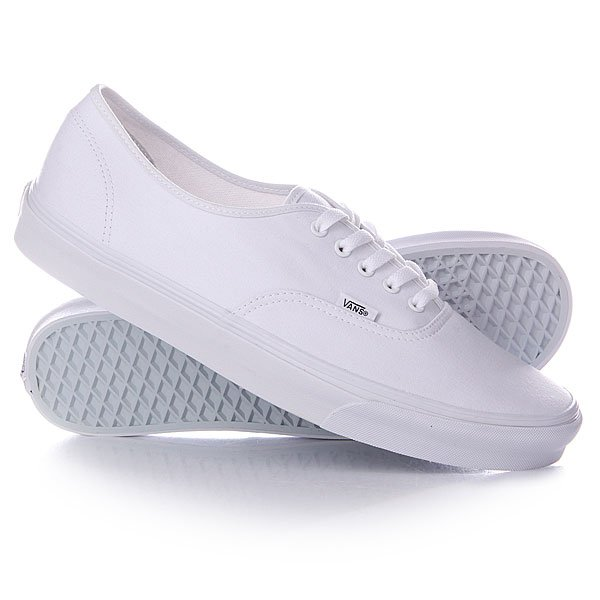 Кеды кроссовки низкие Vans Authentic True An White кеды vans vee3wht white