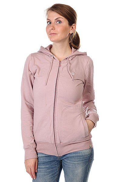 Толстовка женская Element Lima Zh Range<br><br>Цвет: розовый<br>Тип: Толстовка классическая<br>Возраст: Взрослый<br>Пол: Женский