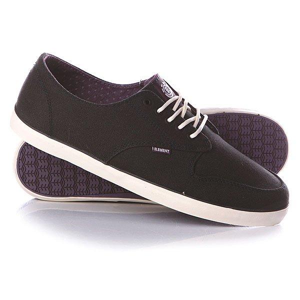 Кеды кроссовки низкие Element Topaz Black Purple