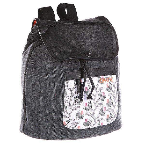 Рюкзак городской женский Dakine Sophia  Knit Floral NaturalМодный женский рюкзак, который идеально подойдёт для прогулок по городу. Характеристики:  Вместительное отделение с утяжкой горловины.Защитная накладка с застежкой.Передний карман на молнии.  Внутренние карманы для мелочей. Эргономичные плечевые лямки.<br><br>Цвет: серый<br>Тип: Рюкзак городской<br>Возраст: Взрослый<br>Пол: Женский