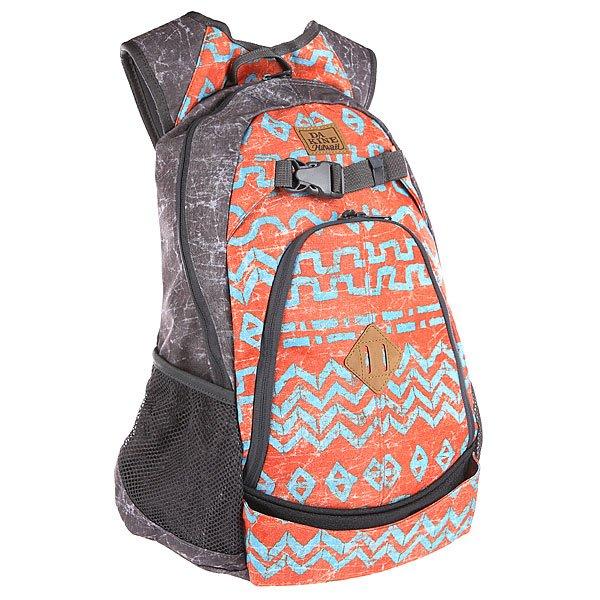 Рюкзак спортивный Dakine Pivot IndioОтличный скейтерский рюкзак на любой случай. Характеристики:Вместительное главное отделение. Карман-органайзер. Вместительный основной отдел. Карман на флисовой подкладке для солнцезащитных очков. Мягкие эргономичные лямки. Регулируемый грудной ремешок. Два боковых сетчатых кармана.<br><br>Цвет: серый,оранжевый,голубой<br>Тип: Рюкзак спортивный<br>Возраст: Взрослый<br>Пол: Мужской