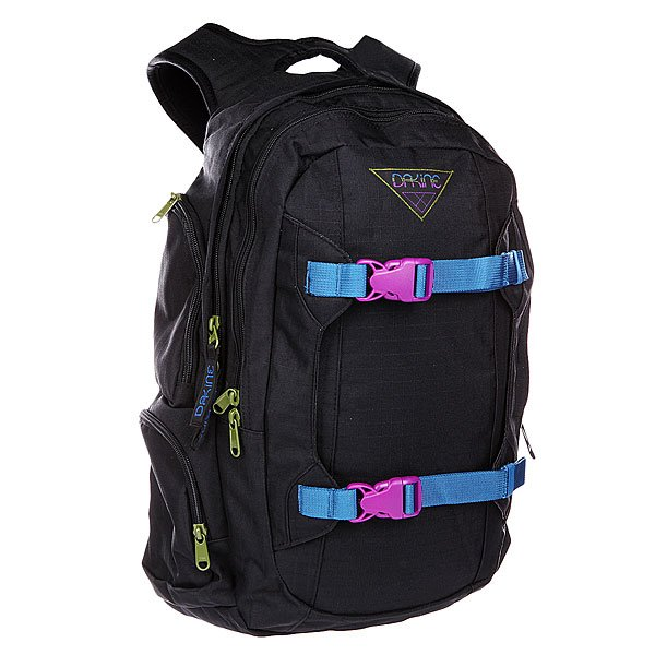 Рюкзак спортивный женский Dakine Mission  Black Ripstop