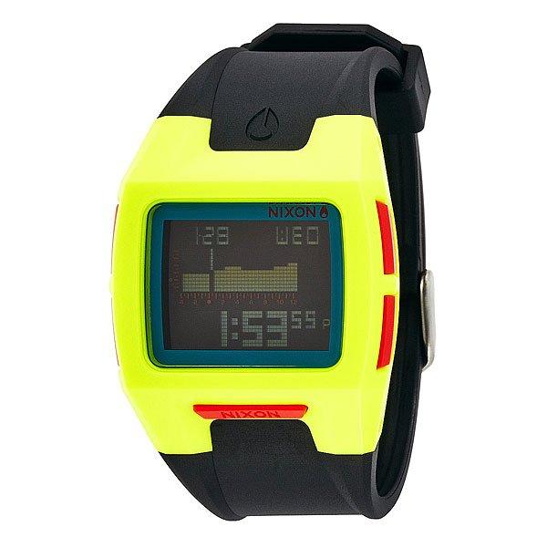 Часы Nixon Lodown Ii Chartreuse/Blue/Black часы nixon corporal ss matte black industrial green