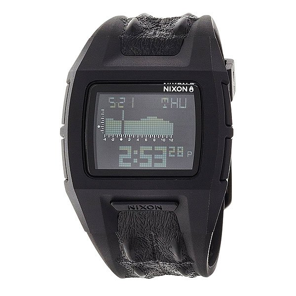 Часы Nixon Lodown S Black Not Croc