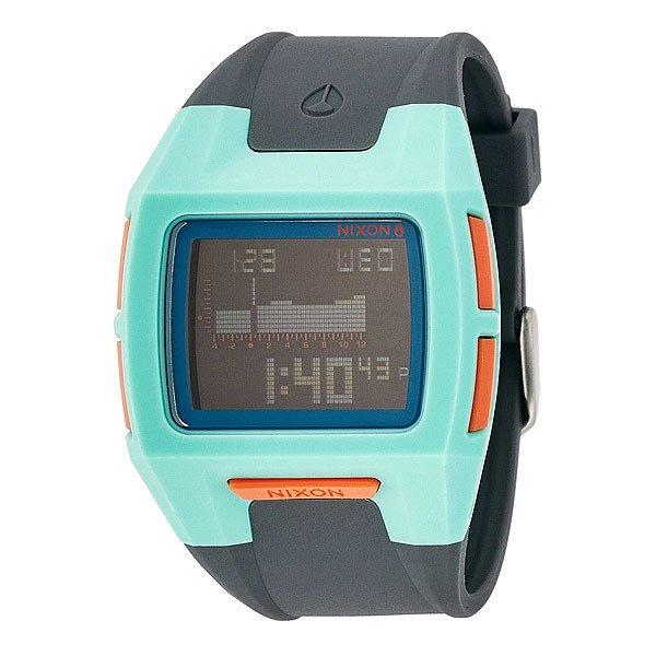 Часы Nixon Lodown S Light Blue/Charcoal/Pink часы nixon lodown ii never dry