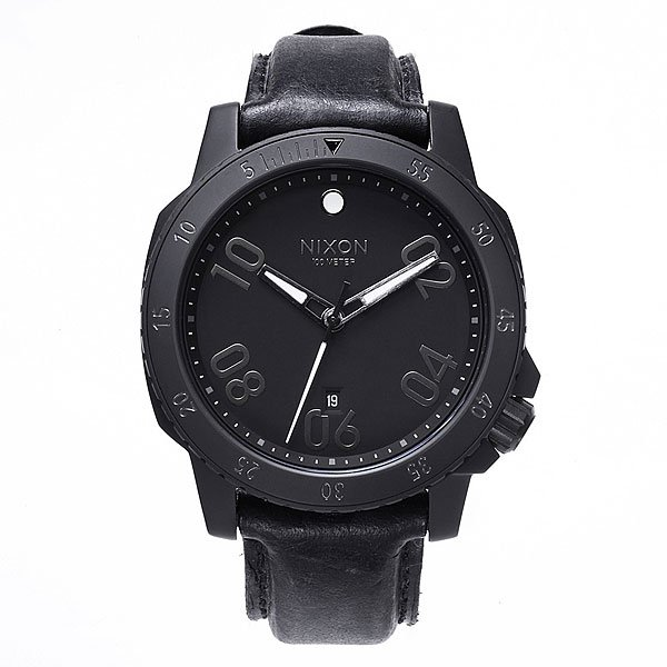 Часы Nixon Ranger Leather All Black nixon часы nixon a514 2072 коллекция ranger