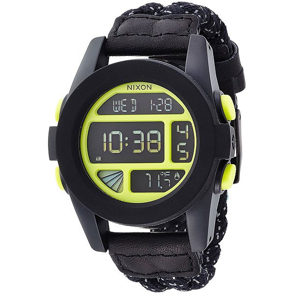 Часы Nixon Unit Black/Reflective