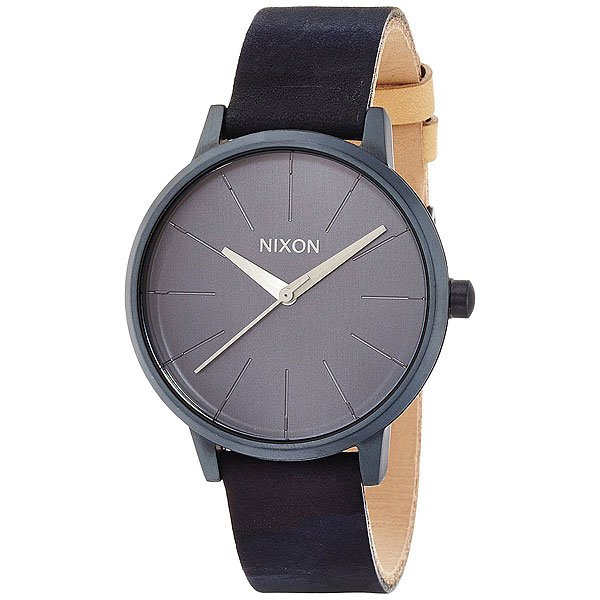 Часы женские Nixon Kensington Leather All Indigo/Natural часы женские nixon kensington all white gold o s
