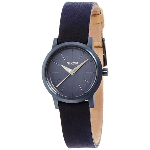 Часы женские Nixon Kenzi Leather All Indigo/Natural