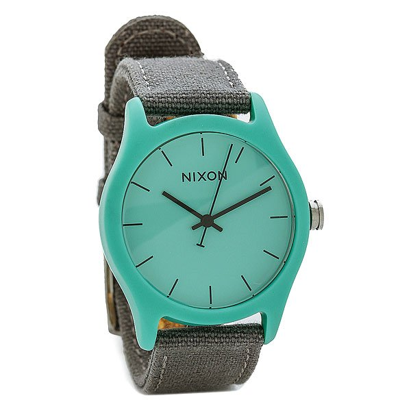 Часы женские Nixon Mod Acetate Light Blue/Gray