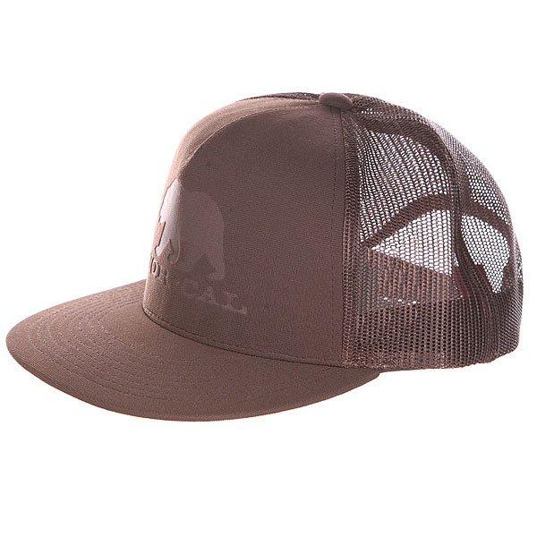 Бейсболка Nor Cal Bear Trucker Dark Brown<br><br>Цвет: коричневый<br>Тип: Бейсболка с сеткой<br>Возраст: Взрослый<br>Пол: Мужской