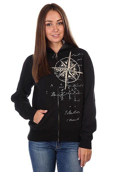 купить Толстовка женская утепленная Nor Cal Maritime Thermal Black по цене 8130 рублей