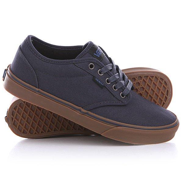 Купить Обувь   Кеды кроссовки низкие Vans Atwood Navy/Gum