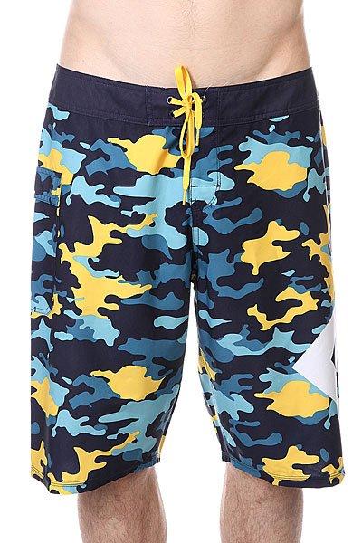 Шорты пляжные DC Lanai Yellow Pop Army
