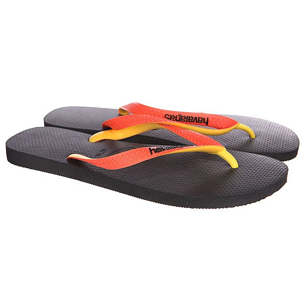 Вьетнамки Havaianas Eles Top Mix Yellow/Black/Orange