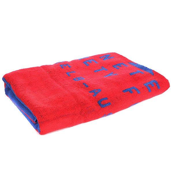 Полотенце Globe Porthole Towel Red<br><br>Цвет: красный,синий<br>Тип: Полотенце<br>Возраст: Взрослый<br>Пол: Мужской