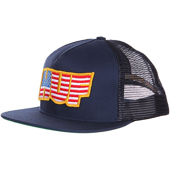 бе-йсболка-huf-usa-trucker-navy