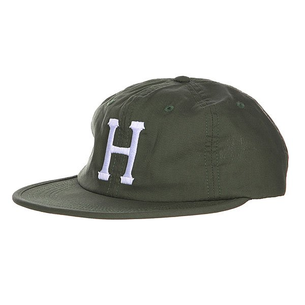 Бейсболка Huf Formless Classic H 6 Panel Olive