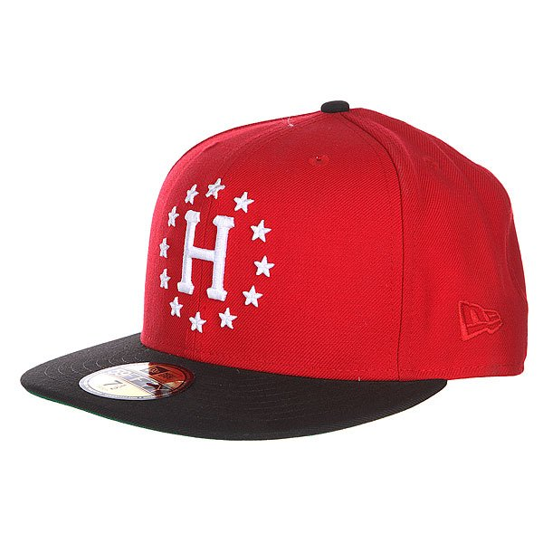 Бейсболка New Era Huf Z 12 Galaxies New Era Scarlet/Black